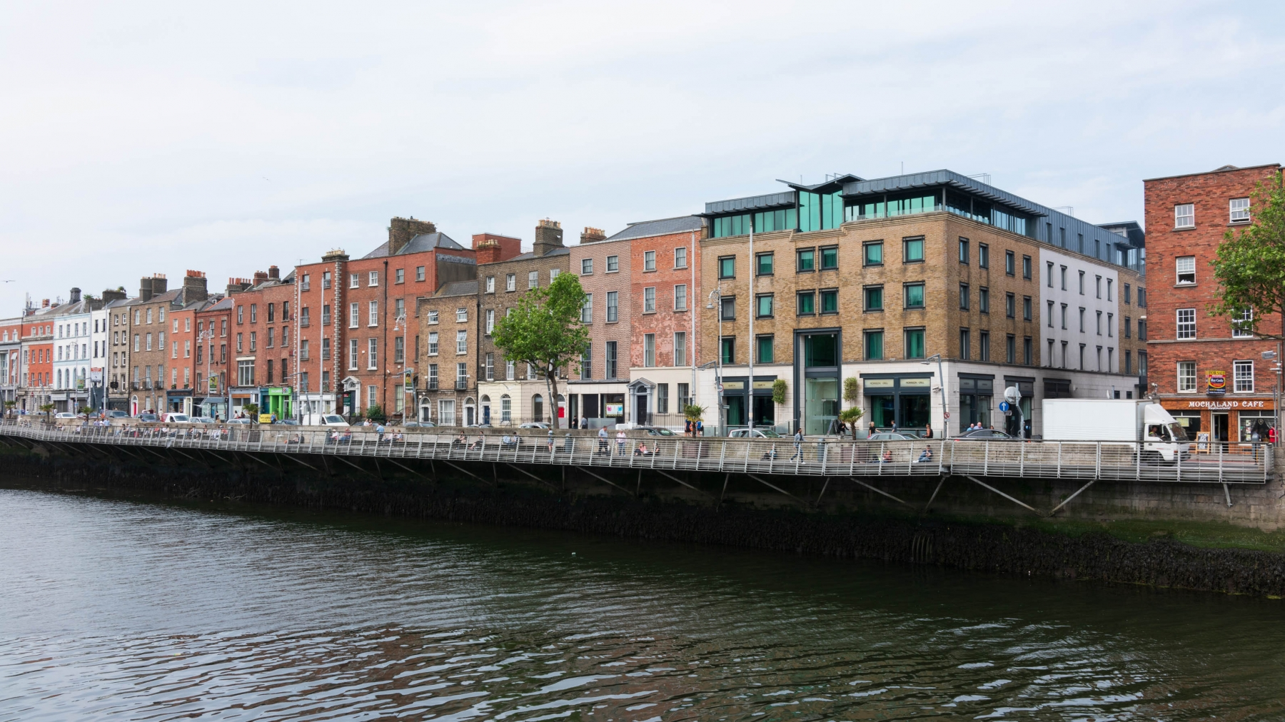 Dublin is a city divided by the River Liffey. Most of the tourist attractions are on the South Side.