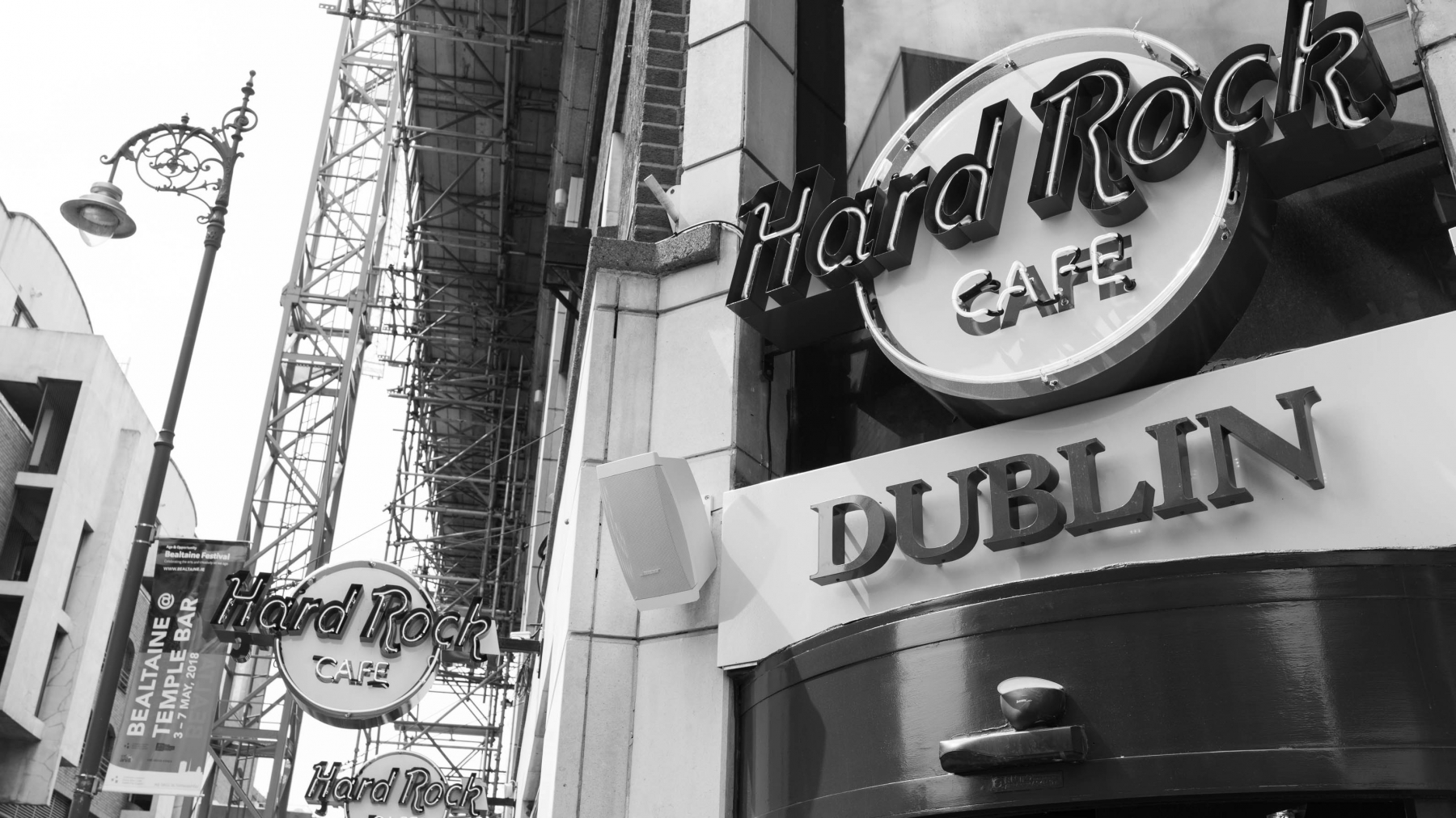 ..There's even a Hard Rock Cafe..
