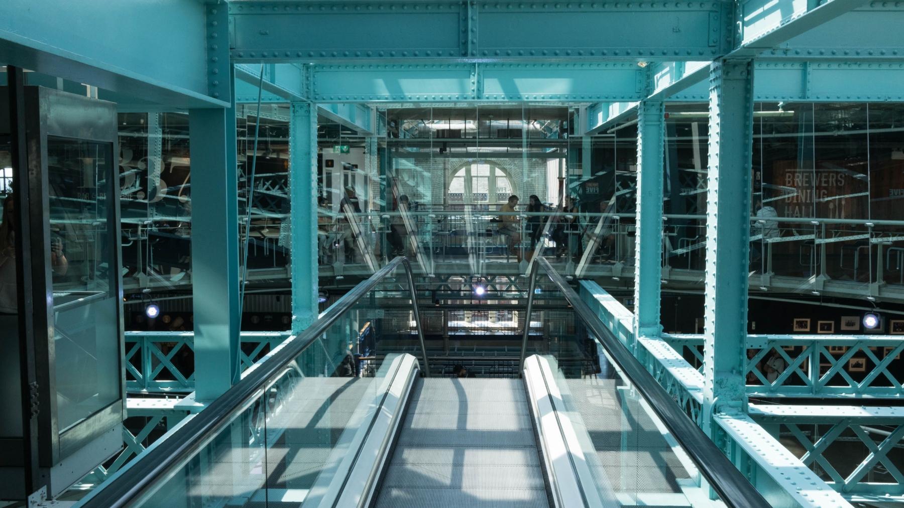 Inside the Guinness Storehouse.
