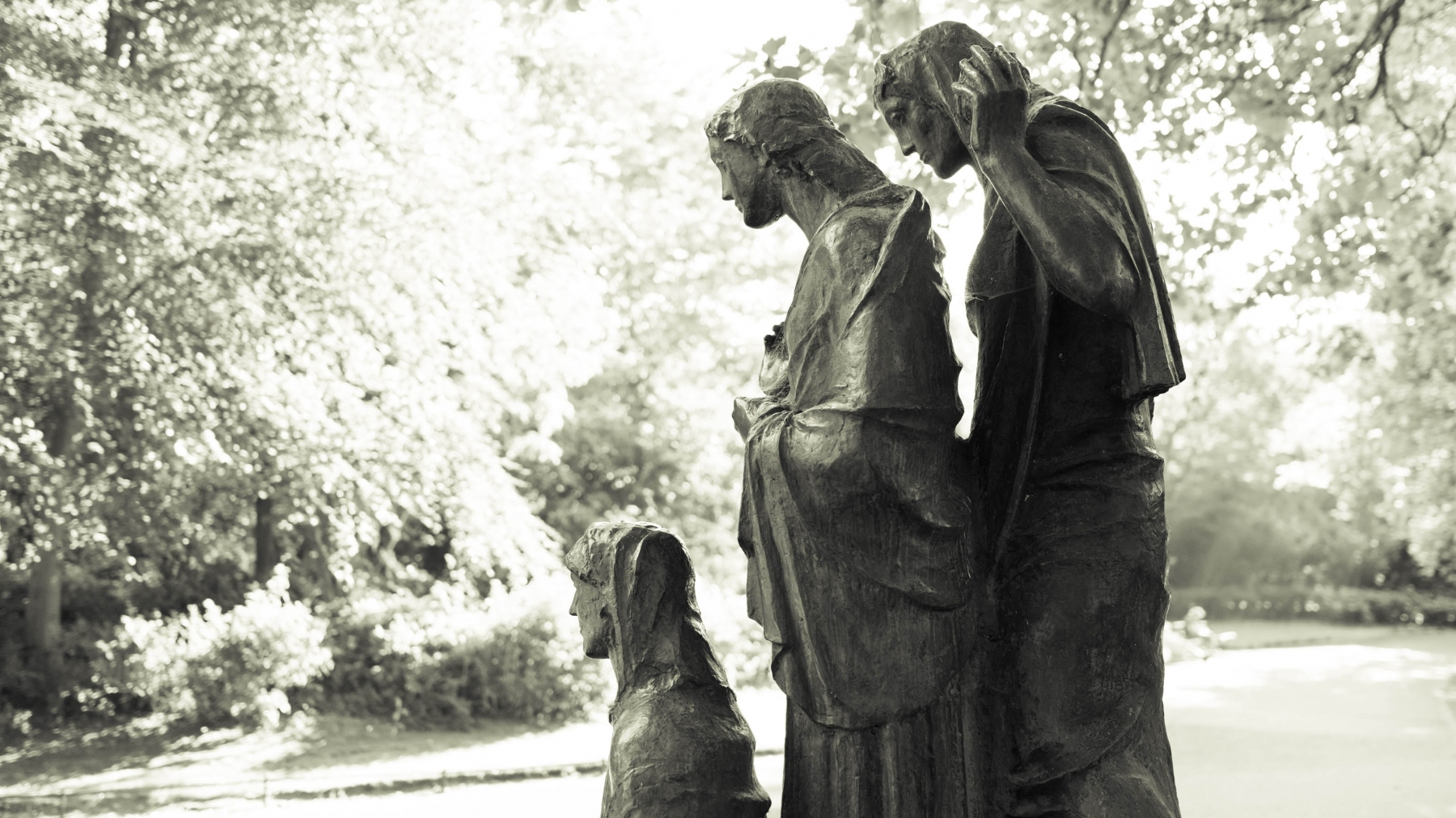 The fountain of the Three Fates, St Stephen's Green, Dublin.