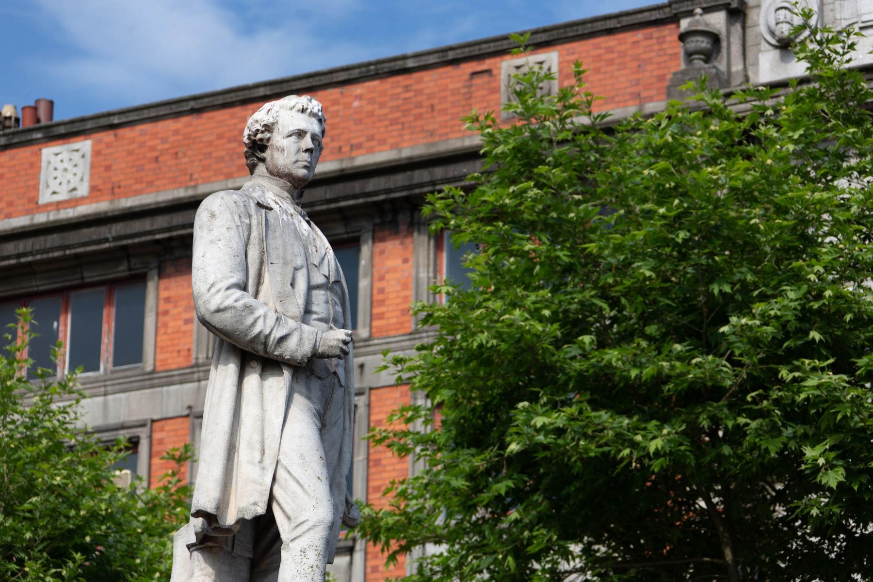 Statue of Sir John Gray, Irish Nationalist, Physician and Politician.