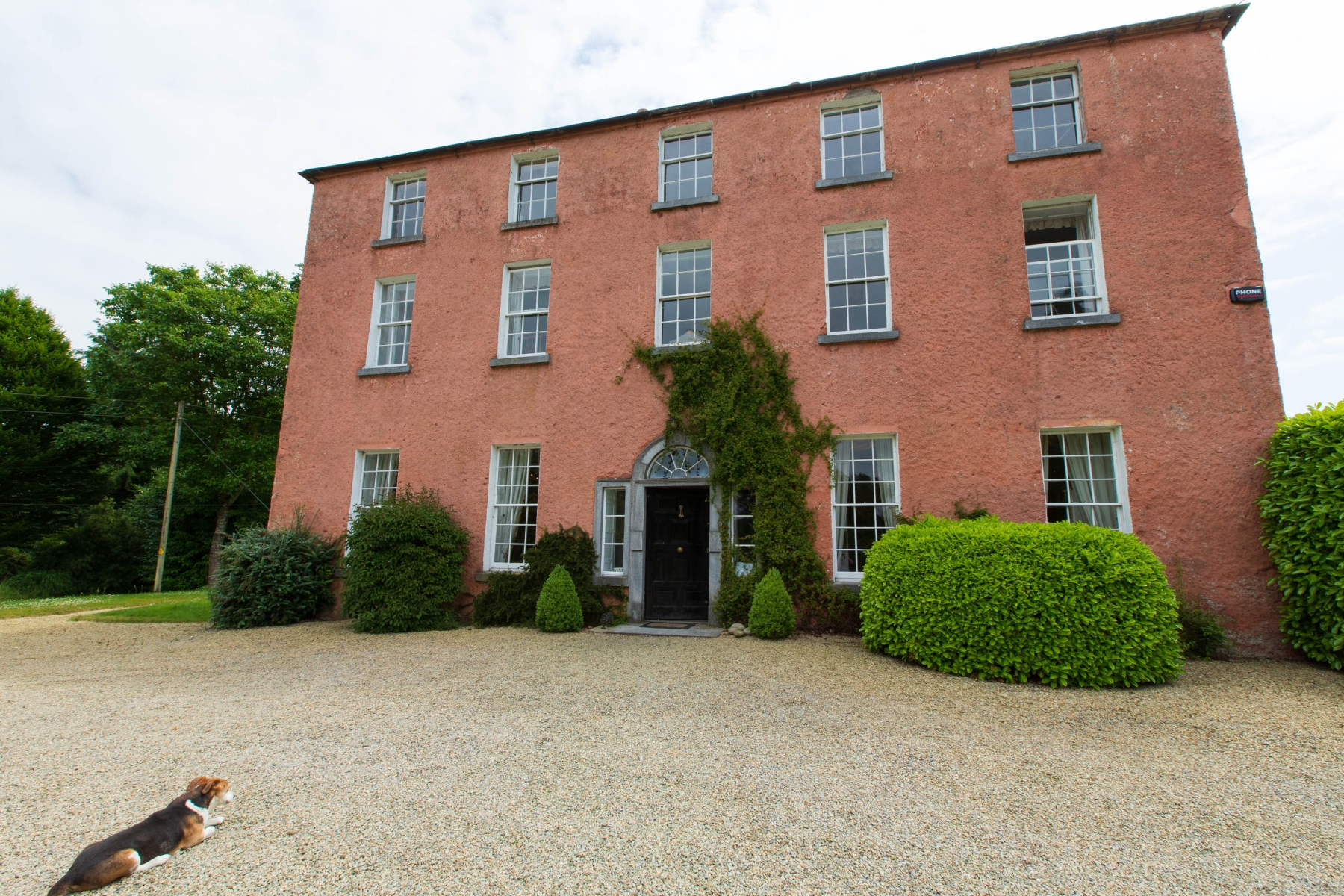 Dollardstown House. Ireland is full of big Estates. You will find quite a lot of them have been turned into B&Bs. We stayed in this 300 year old country house.
