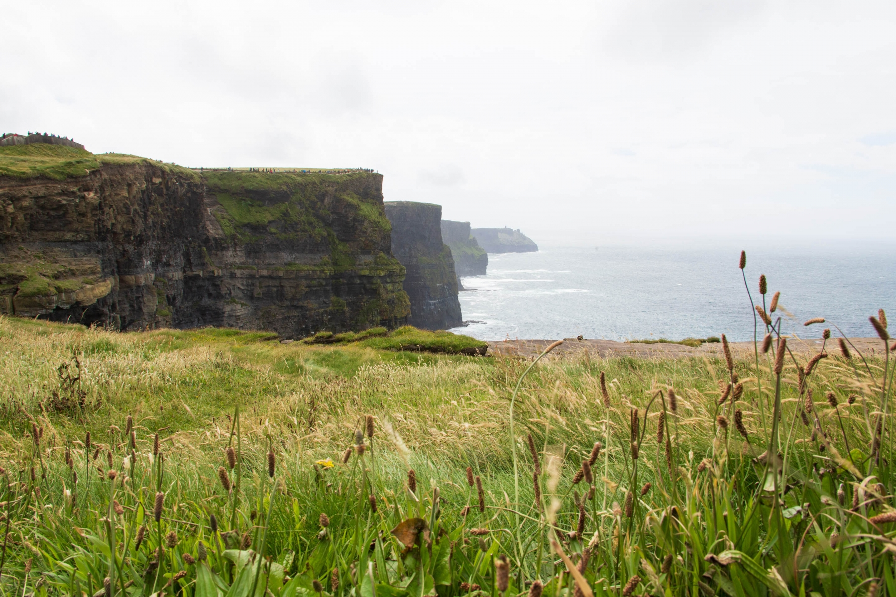 If you are visiting Cliffs of Moher, go early as it does get super crowded.