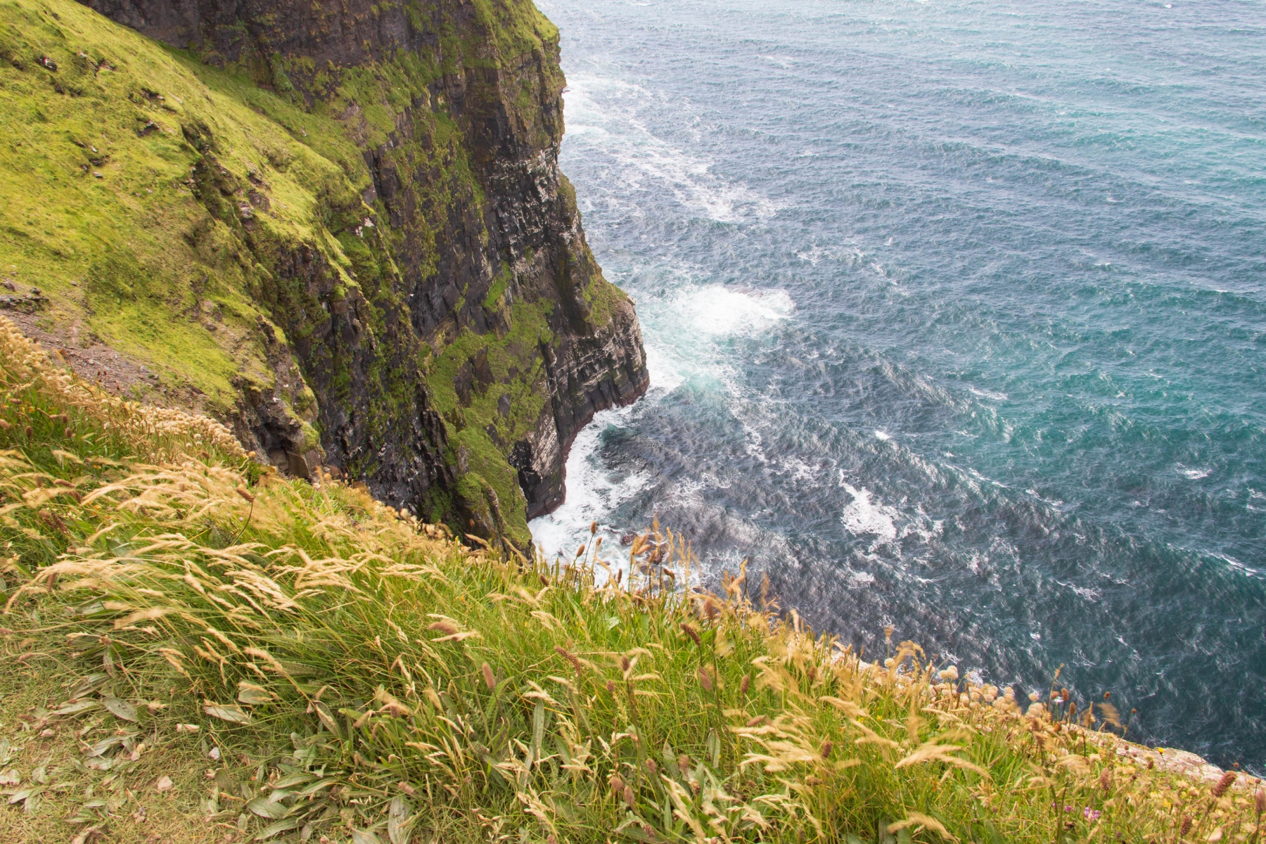 Just don't get too close to the edge..It's quite windy for one and the cliff edge can be rather clumsy.