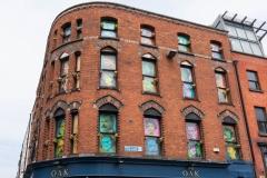 Walking around the Temple Bar area, Dublin.