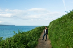 THe Ardmore Cliff Walk takes about a 1.5 hours to complete and includes some changes in Elevation.