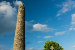 Thought to be built around the 12th Century the round tower of Ardmore is around 30m tall (98ft).
