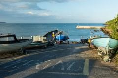 Small Dock in Ardmore, SE Ireland.