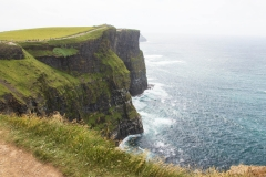 The Cliffs rise about 390ft from the Ocean floor
